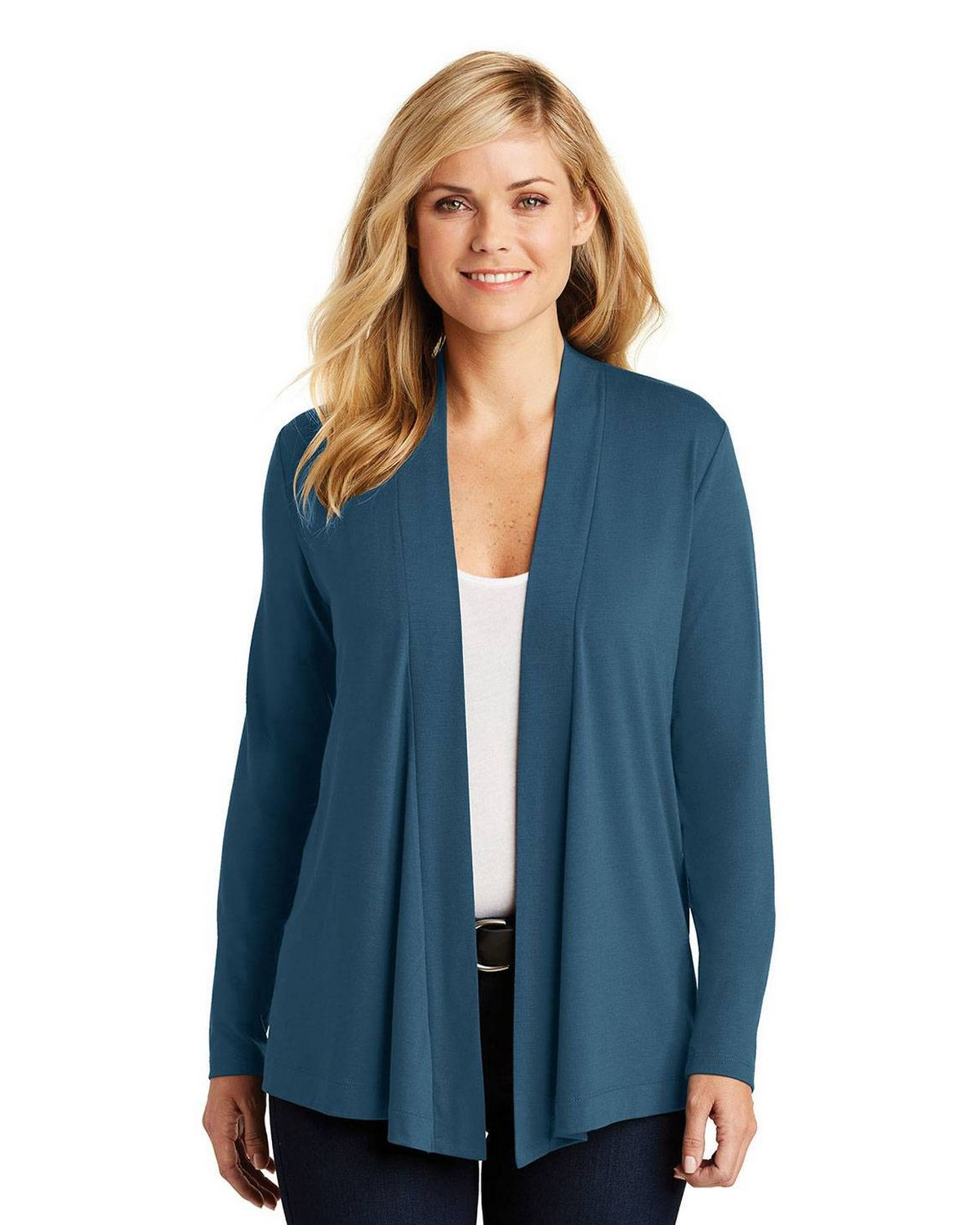 Port Authority L5430 Ladies Concept Knit Cardigan