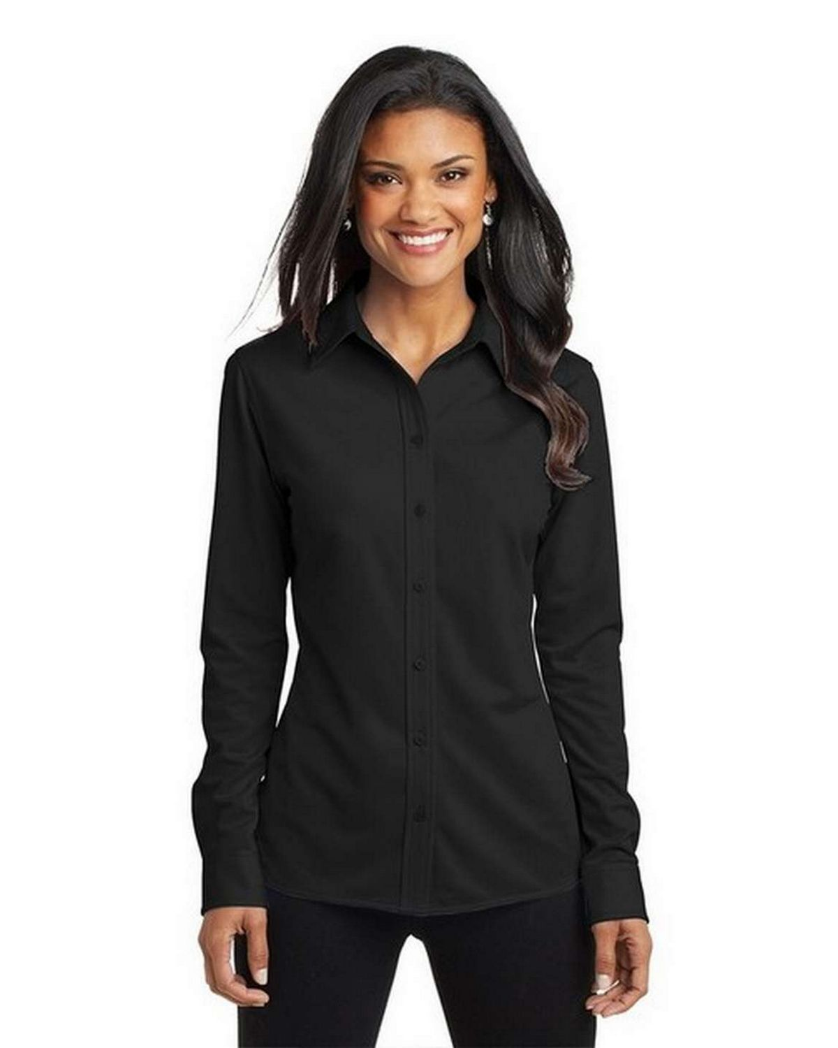 Port Authority L570 Ladies Dimension Knit Dress Shirt