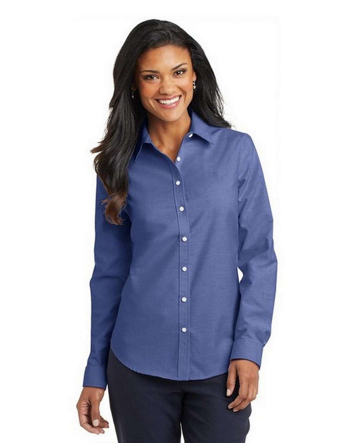 Port Authority L658 Ladies SuperPro Oxford Dress Shirt