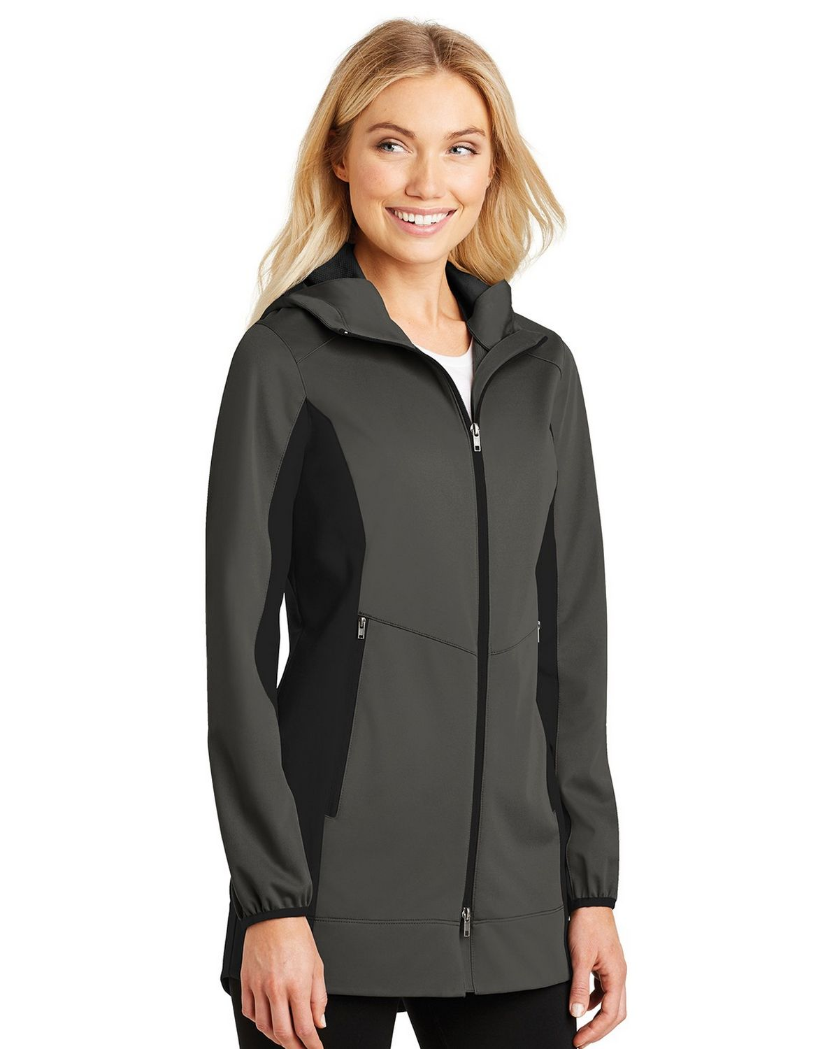 Port Authority L719 Las Active Hooded Soft Shell Jacket Size Chart A2zclothing