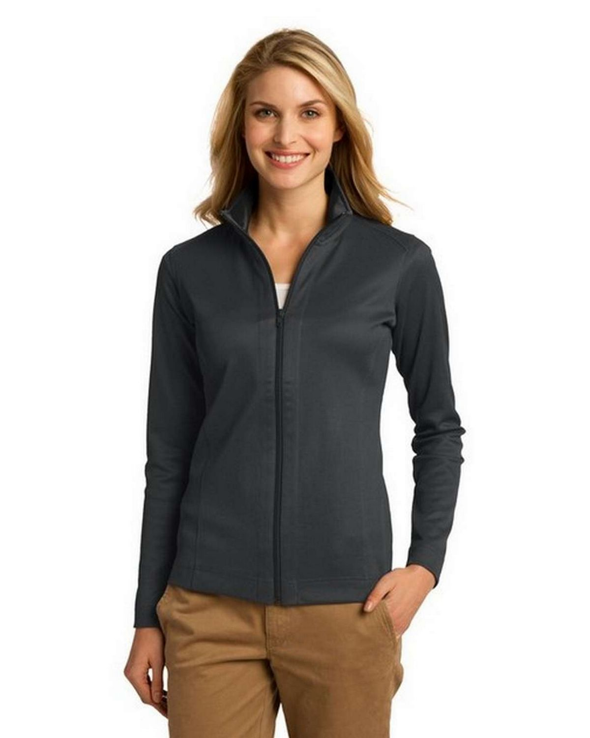 Port Authority L805 Ladies Heavyweight Vertical Texture Jacket