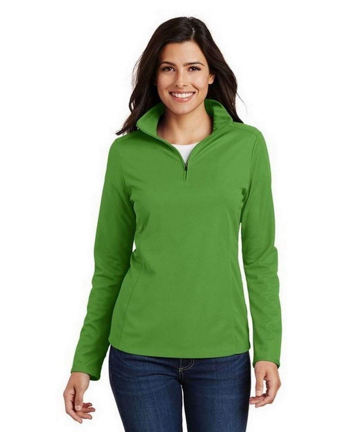 Port Authority L806 Ladies Pin Mesh 1/2-Zip