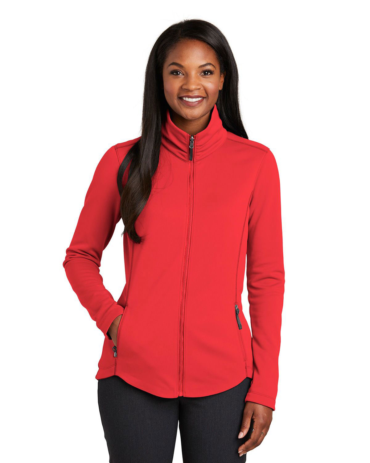 Port Authority L904 Women Collective Smooth Fleece Jacket