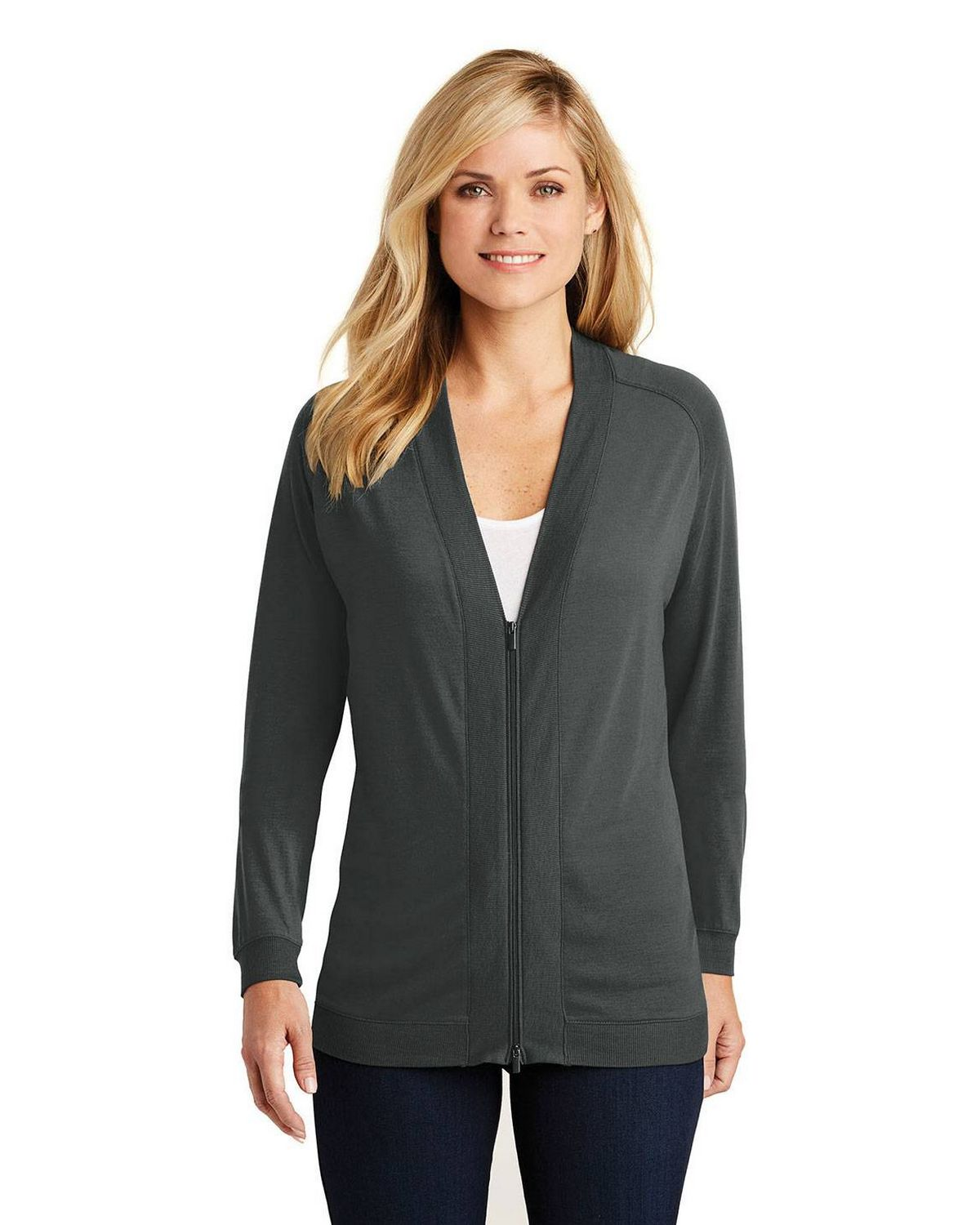 Port Authority LK5431 Ladies Concept Bomber Cardigan