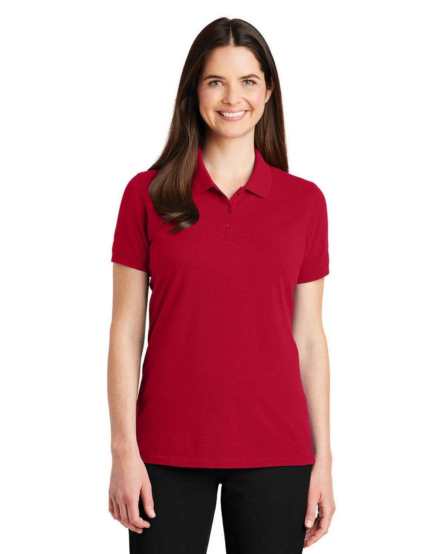 Port Authority LK8000 Ladies EZ Cotton Polo Shirt