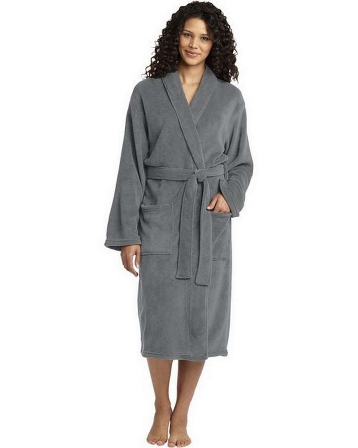 Port Authority R102 Plush Microfleece Shawl Collar Robe