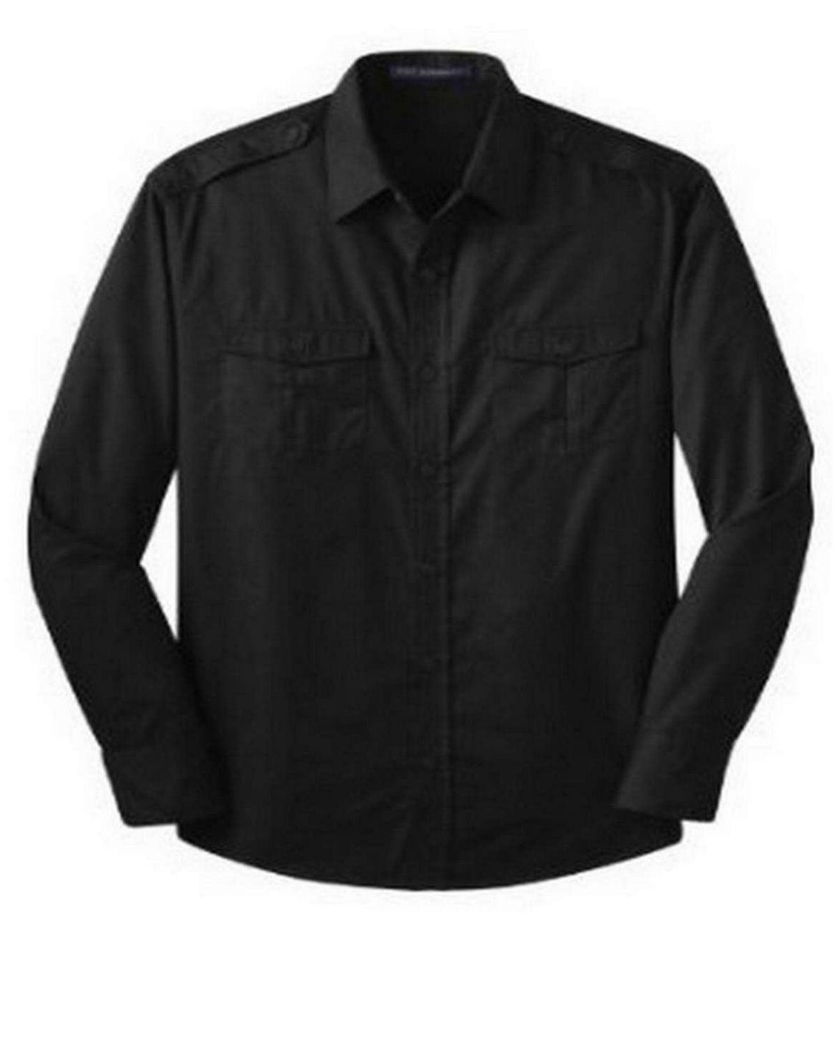 Port Authority S649 Stain-Resistant Roll Sleeve Twill Shirt