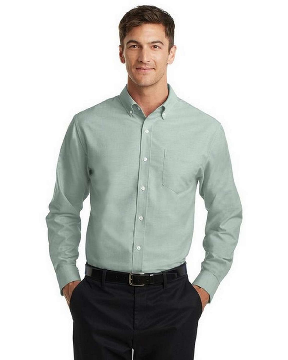 Port Authority S658 SuperPro Oxford Dress Shirt