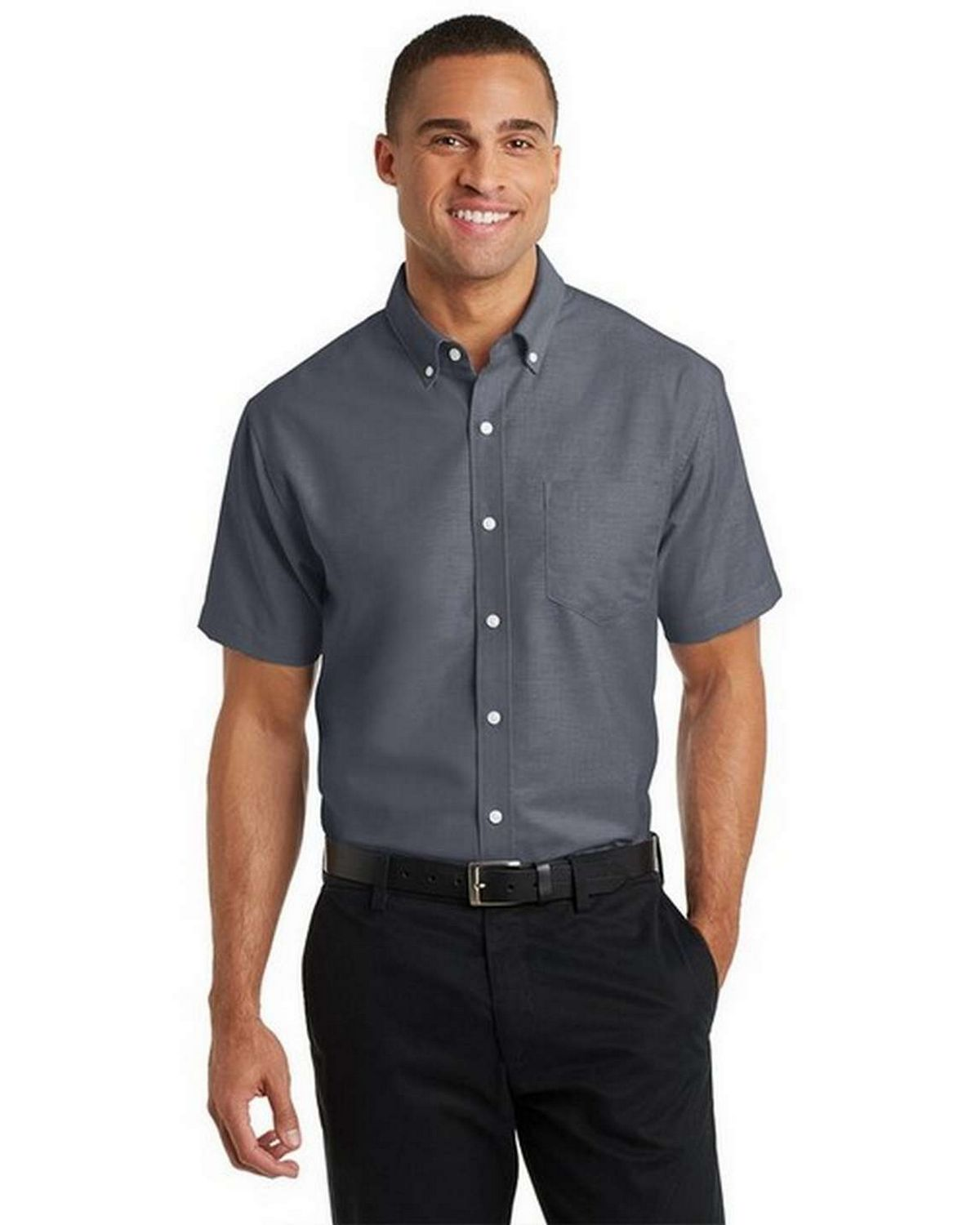Port Authority S659 Short Sleeve SuperPro Oxford Dress Shirt