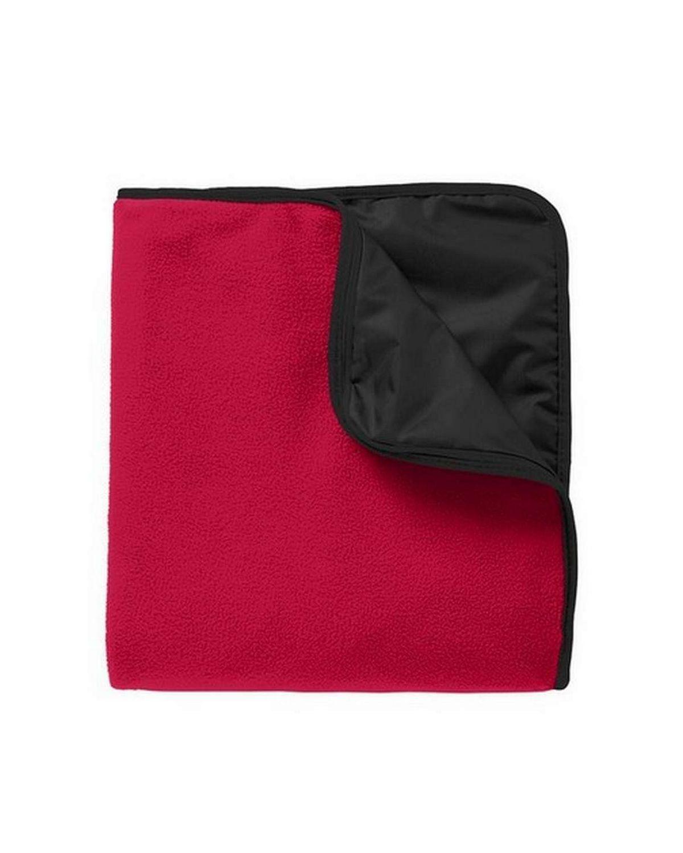 Port Authority TB850 Fleece  Poly Travel Blanket