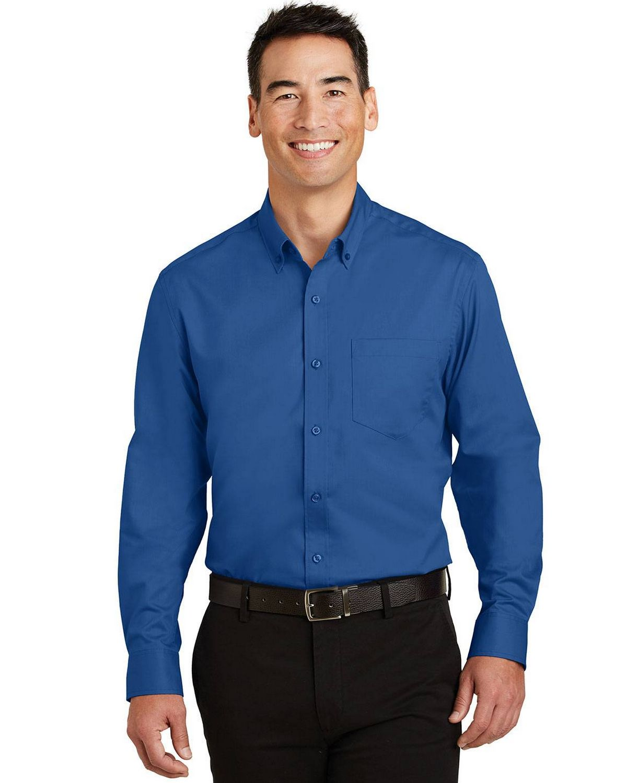 Port Authority TS663 Mens Tall SuperPro Twill Shirt