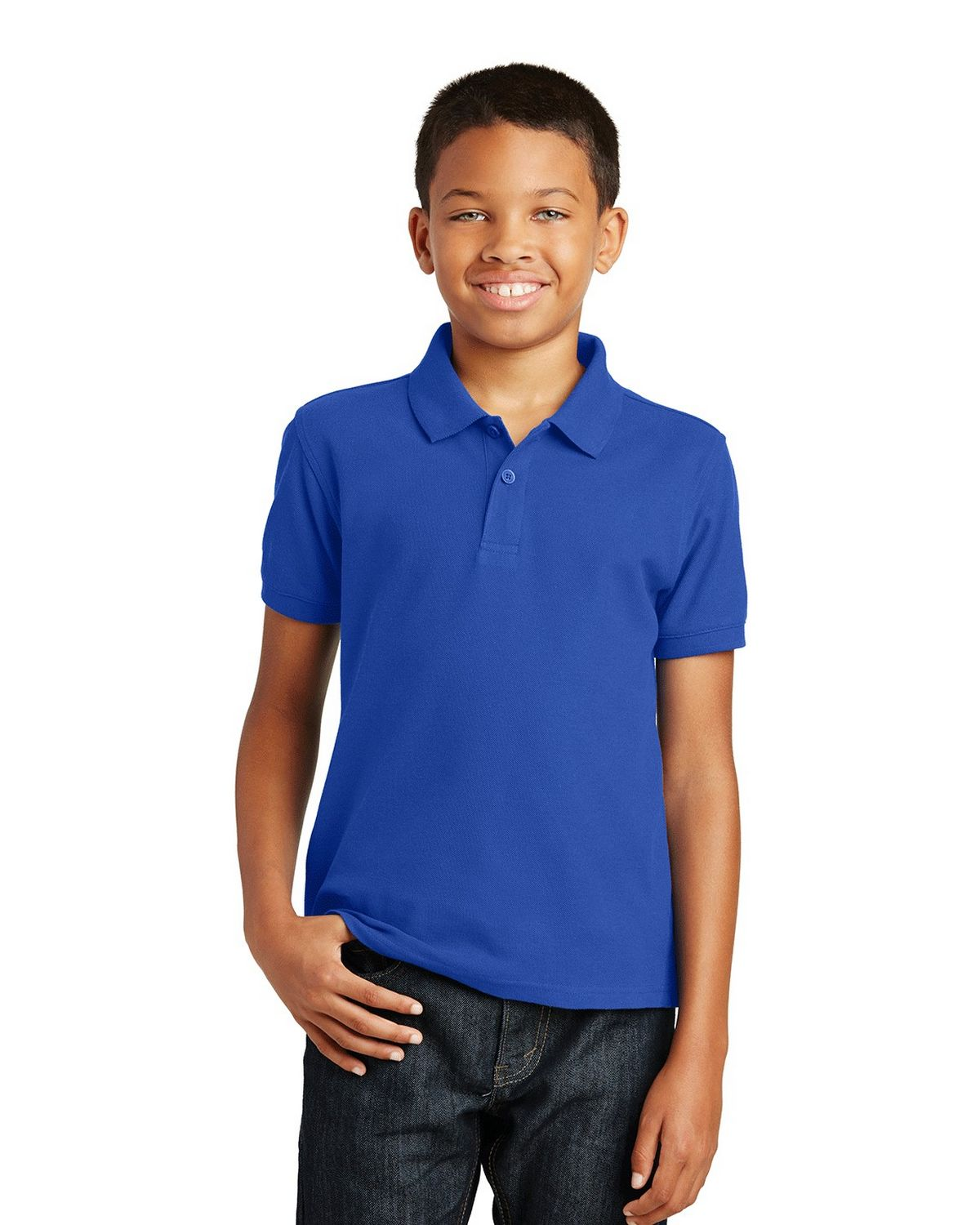 Port Authority Y100 Youth Core Classic Pique Polo