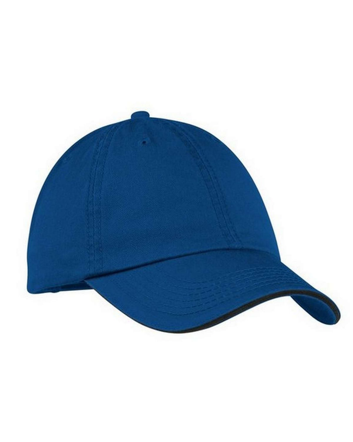Port & Company CP79 Washed Twill Sandwich Bill Cap