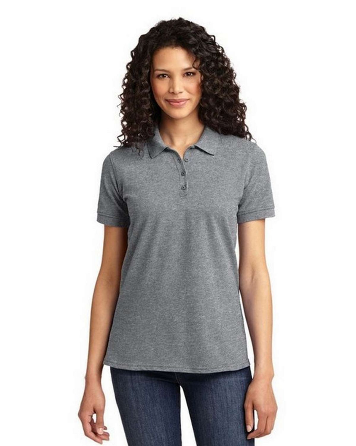 Port & Company LKP155 Ladiesby Port Authority 50/50 Pique Polo