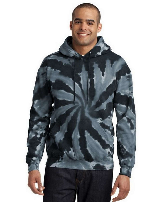 Port & Company PC146 Essential Tie-Dye Pullover Hooded Sweatshirt