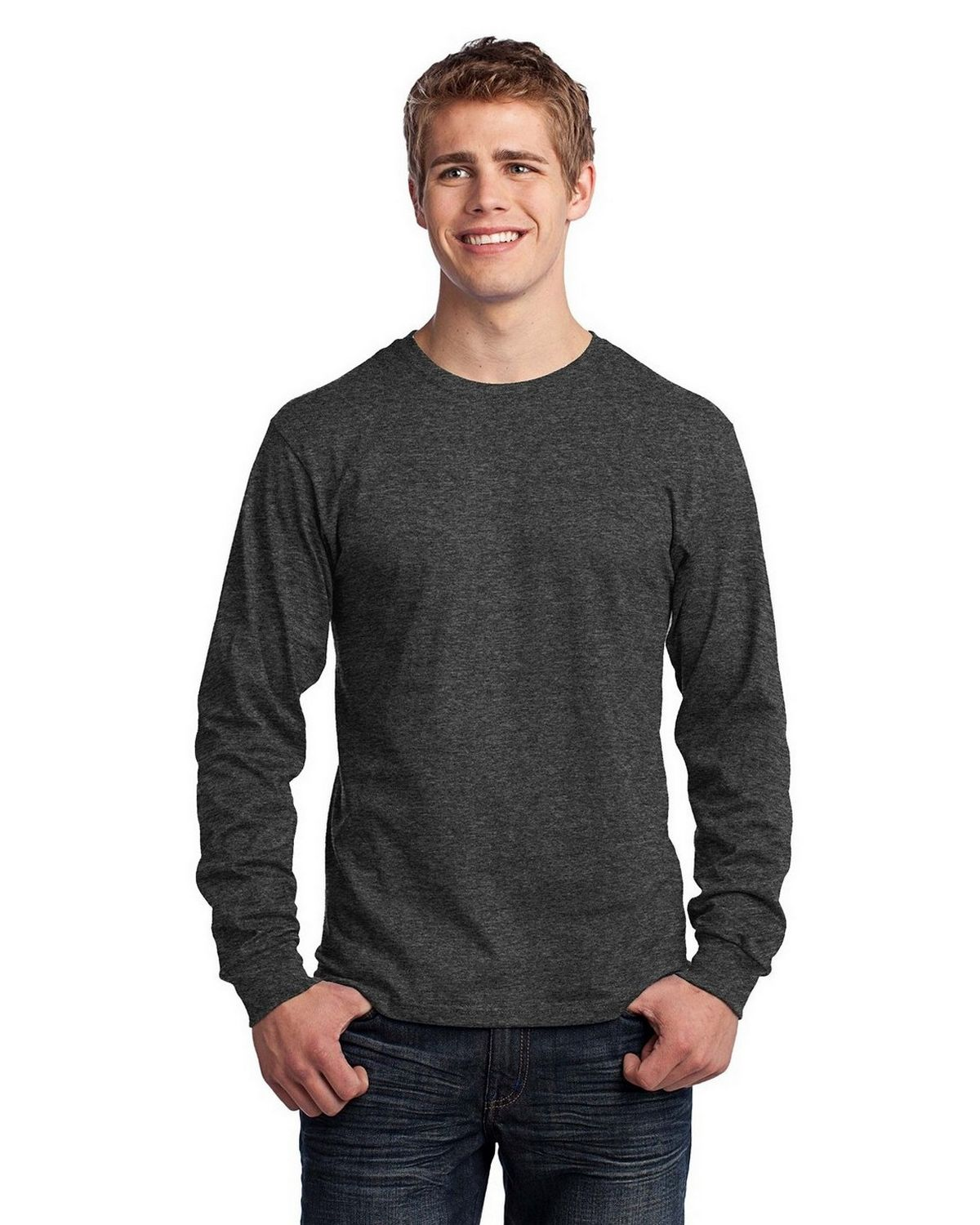 Port & Company PC54LS Long-Sleeve 100% Cotton T-Shirt