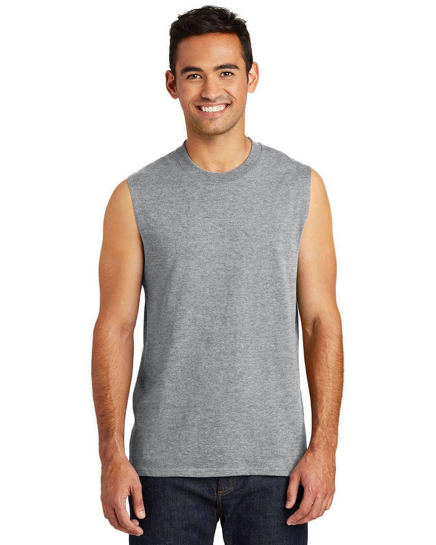 Port & Company PC54SL Mens Core Cotton Sleeveless T-Shirt