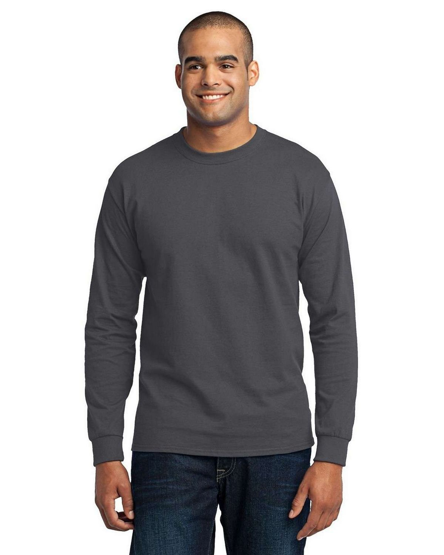 Port & Company PC55LS Long Sleeve 50/50 Cotton/Poly T-Shirt