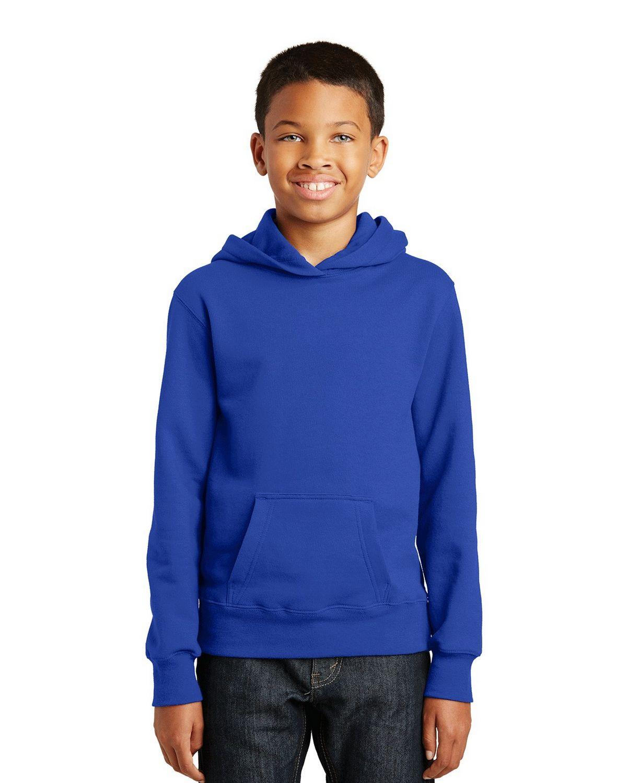 Port & Company PC850YH Youth Fan Favorite Fleece Pullover Hooded Sweatshirt