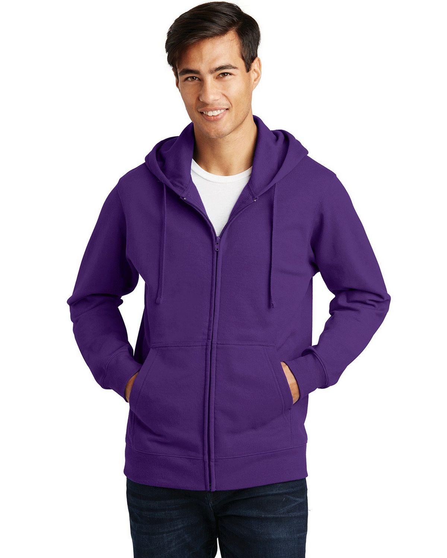 Port & Company PC850ZH Fan Favorite Fleece Full-Zip Hooded Sweatshirt