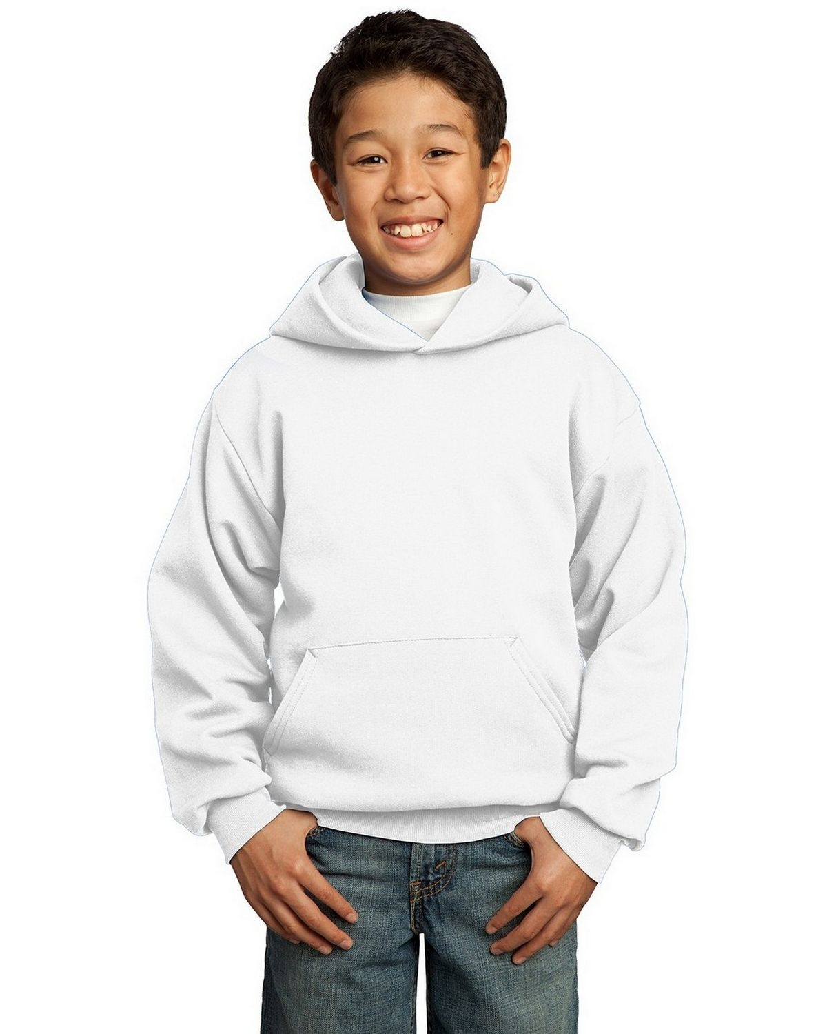 Port & Company PC90YH Youth Pullover Hooded Sweatshirt