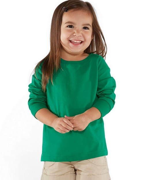 Rabbit Skins 3302 Toddler Fine Jersey Long Sleeve T-Shirt