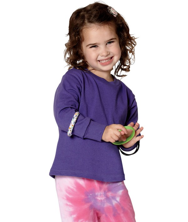 Rabbit Skins 3311 Toddlers Jersey Long-Sleeve T-Shirt