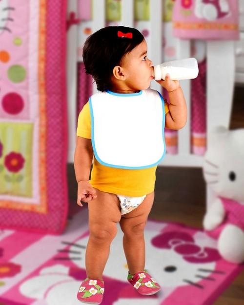 Rabbit Skins R1003 Infant Snap Bib