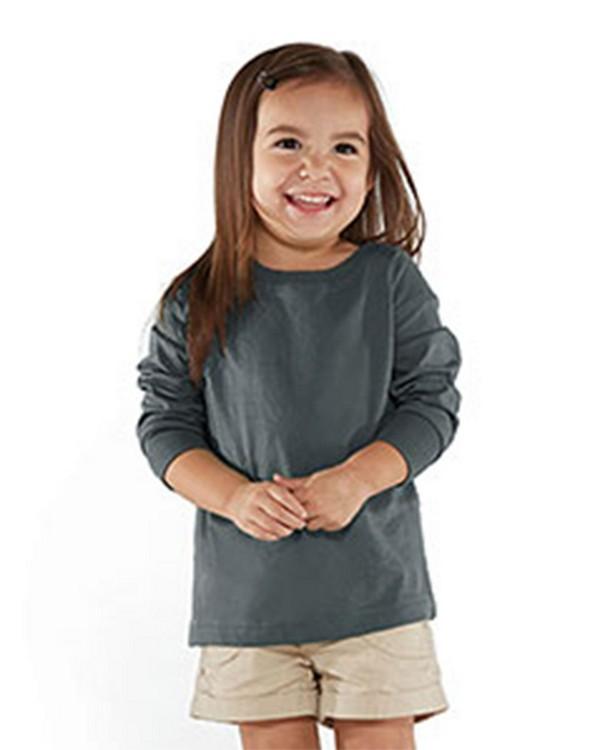 Rabbit Skins RS3302 Toddler Fine Jersey Long Sleeve T-Shirt