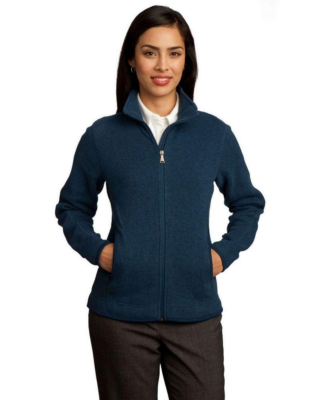 Red House RH55 NEW Ladies Sweater Fleece Full-Zip Jacket