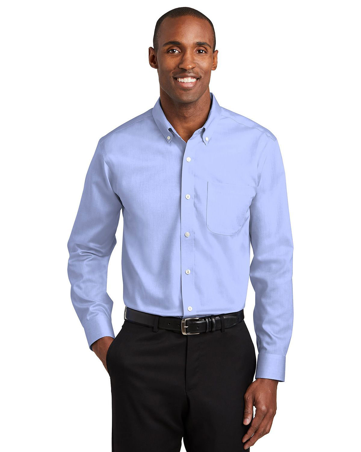 Red House TLRH240 Tall Pin. Oxford Non-Iron Shirt