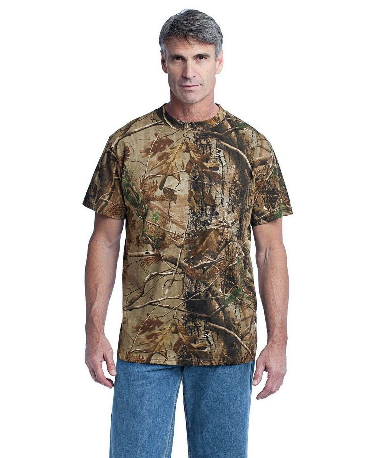 Russell Outdoors NP0021R Realtree Explorer 100% Cotton T-Shirt