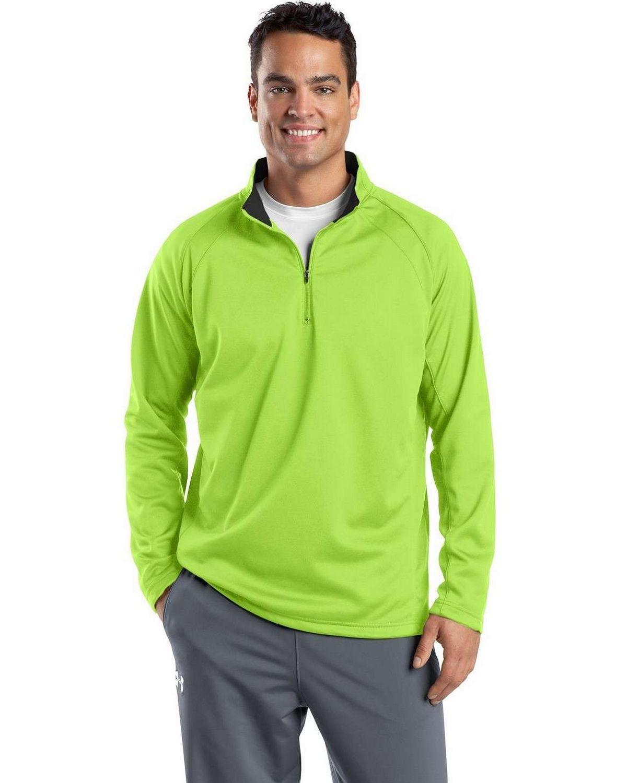 Sport-Tek F243 Sport-Wick 1/4-Zip Fleece Pullover