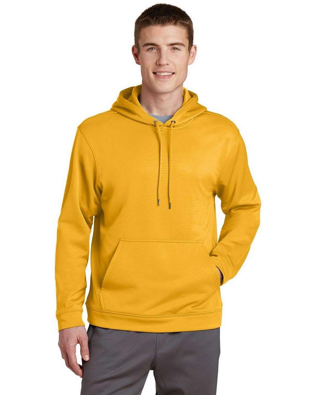 Sport-Tek F244 Sport-Wick Fleece Hooded Pullover