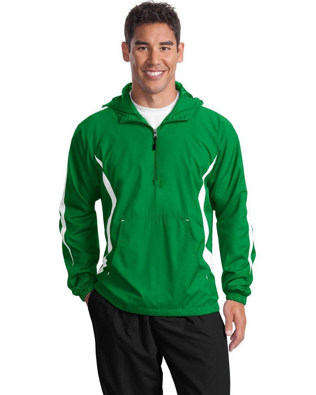 Sport-Tek JST63 Colorblock Raglan Anorak Jacket