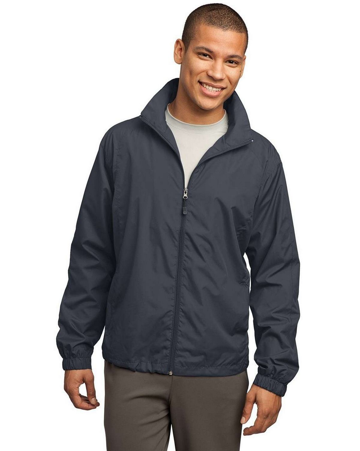 Sport-Tek JST70 Full-Zip Wind Jacket