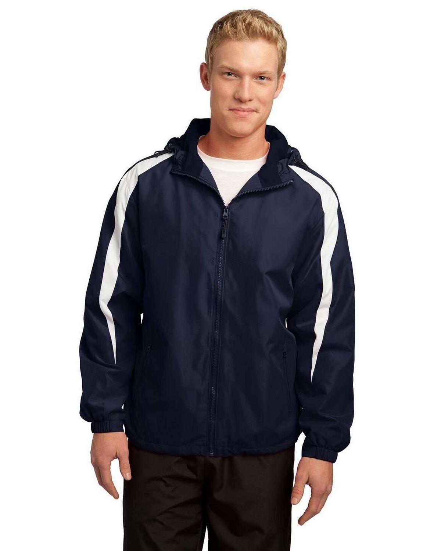 Sport-Tek JST81 Fleece-Lined Colorblock Jacket