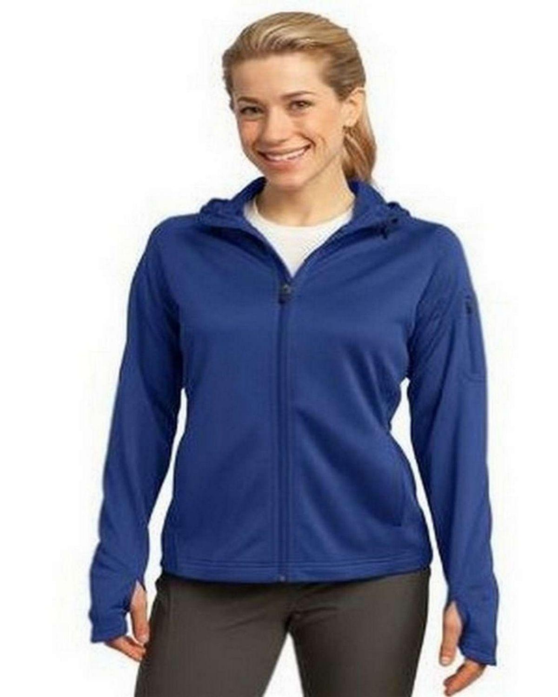 Sport-Tek L248 Ladies Tech Fleece Full-Zip Hooded Jacket