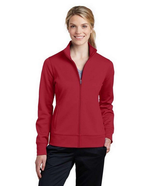 Sport-Tek LST241 Ladies Sport-Wick Fleece Full-Zip Jacket