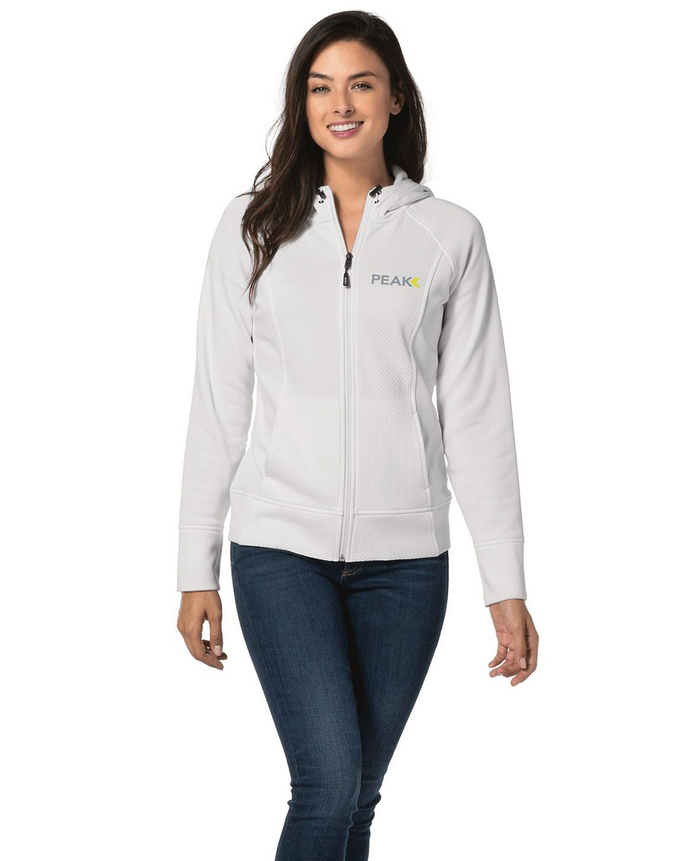 Sport-Tek LST295 Ladies Rival Tech Fleece Full-Zip Hooded Jacket