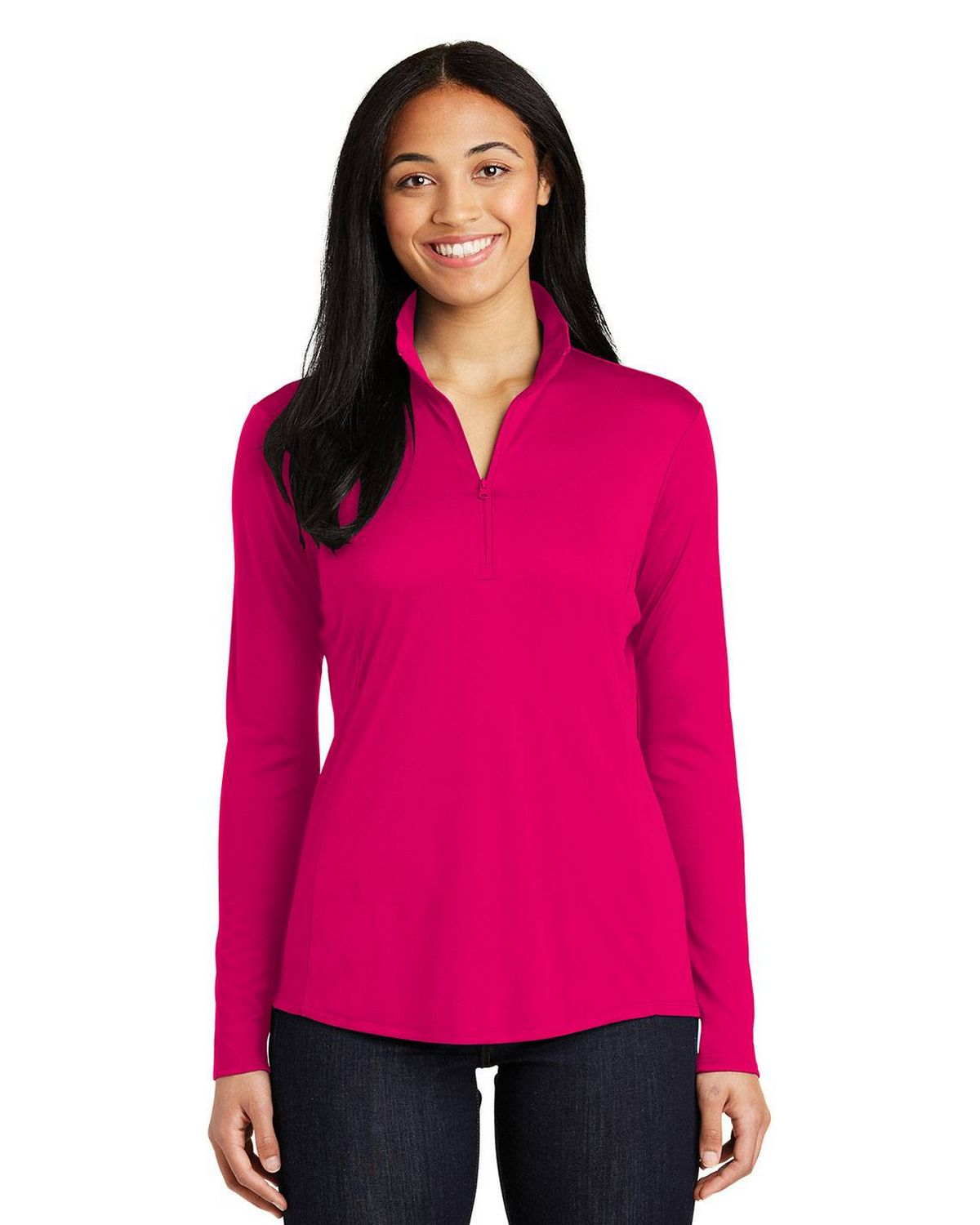 Sport-Tek LST357 Ladies Posi Charge Competitor 1/4 Zip Pullover