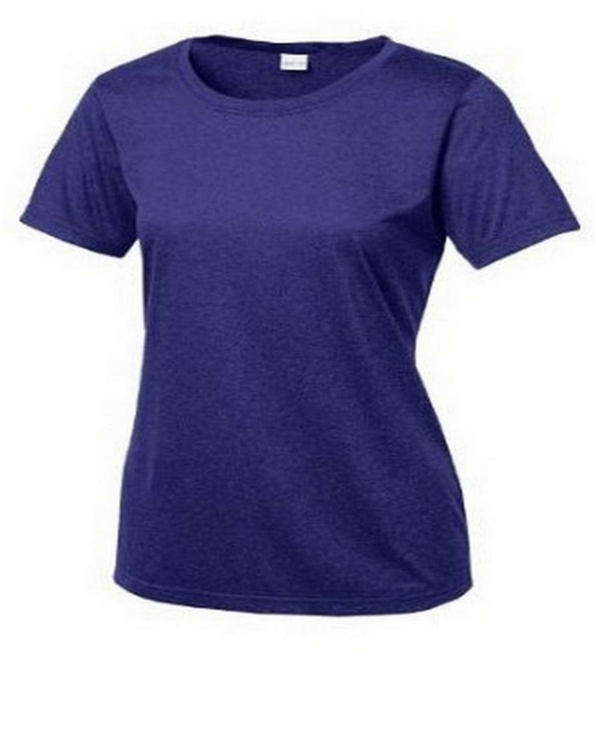 Sport-Tek LST360 Ladies Heather Contender Scoop Neck Tee