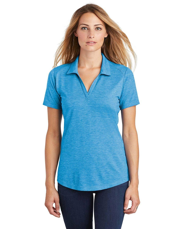 Sport-Tek LST405 Women PosiCharge Tri-Blend Wicking Polo