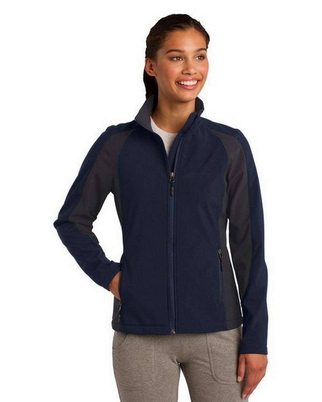 Sport-Tek LST970 Ladies Colorblock Soft Shell Jacket