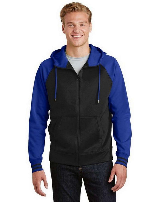 Sport-Tek ST236 Sport-Wick Varsity Fleece Full-Zip Hooded Jacket