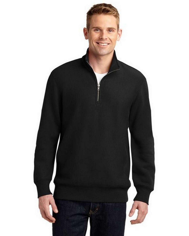 Sport-Tek ST283 Super Heavyweight 1/4-Zip Pullover Sweatshirt