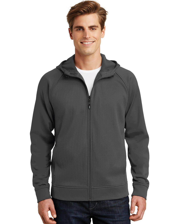 Sport-Tek ST295 Rival Tech Fleece Full-Zip Hooded Jacket