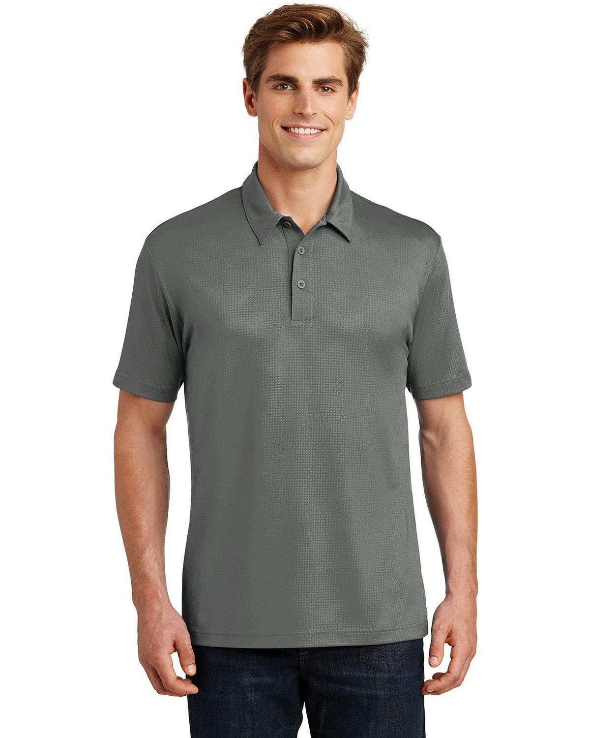 Sport-Tek ST630 Embossed PosiCharge Tough Polo