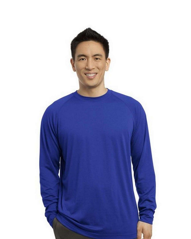 Sport-Tek ST700LS Long Sleeve Ultimate Performance Crew T-Shirt