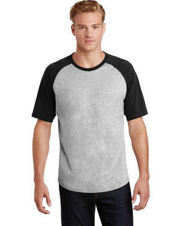 Sport-Tek T201 Short Sleeve Colorblock Raglan Jersey